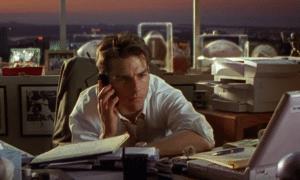 Jerry Maquire Tom Cruise sijoittaja