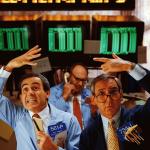 Pörssikurssien romahdus