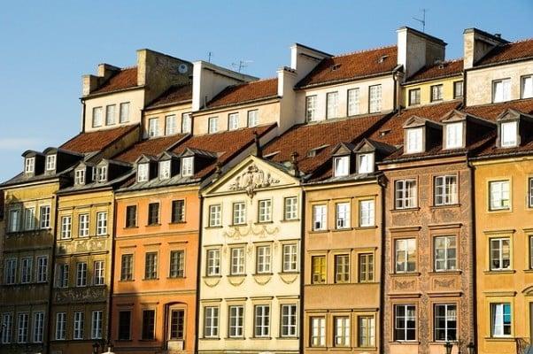 Varsovan vanha kaupunki, Puola.