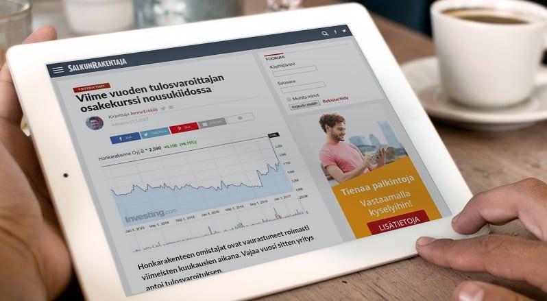 SalkunRakentaja nettisivut sijoittaminen talous raha osakkeet rahastot