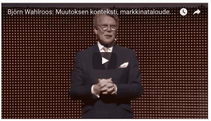 Björn, Wahlroos, yhteiskunta, yhteiskunnallinen, vaikuttaminen, yliopisto, yliopistot, tehtävä, tehtävät