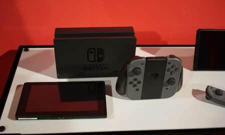 Nintendo Switch pelikonsoli