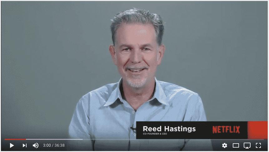 Netfixin toimitusjohtajan, Reed Hastingsin mukaan Netflixin kasvu voi jatkua vielä pitkään. Sadan miljoonan rajapyykki tulee kohta vastaan, mutta tämä on Hastingsin mukaan vasta alkusoittoa. Osakesijoittaminen, kasvuosakkeet ja osavuotiskatsaukset.