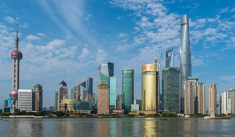 Shanghai Kiina kehittyvät markkinat sijoittaminen markkinat