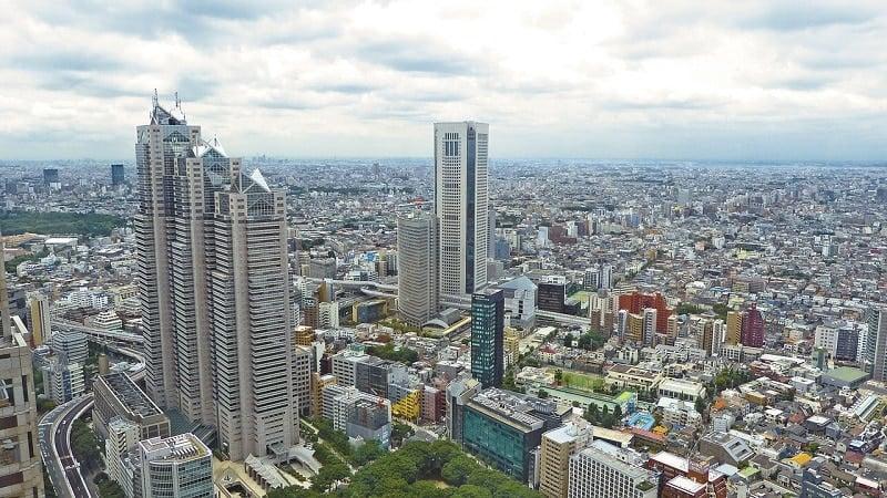 Tokio Japani kallis kaupunki