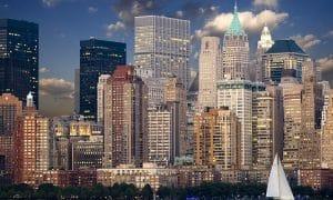 USA Yhdysvallat pilvenpiirtäjä talous