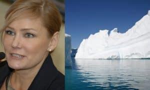 Eija-Riitta Korhola Etelänapa kasvihuoneilmiö ympäristöongelmat Pariisin ilmastosopimus