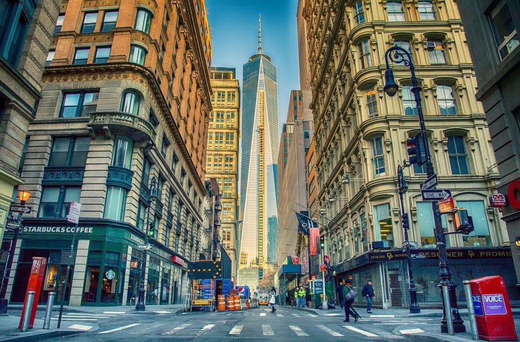 New York Manhattan USA kaupunki