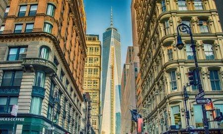 New York Manhattan USA kaupunki kansikuva