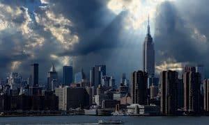 New York USA Yhdysvallat talouskriisi