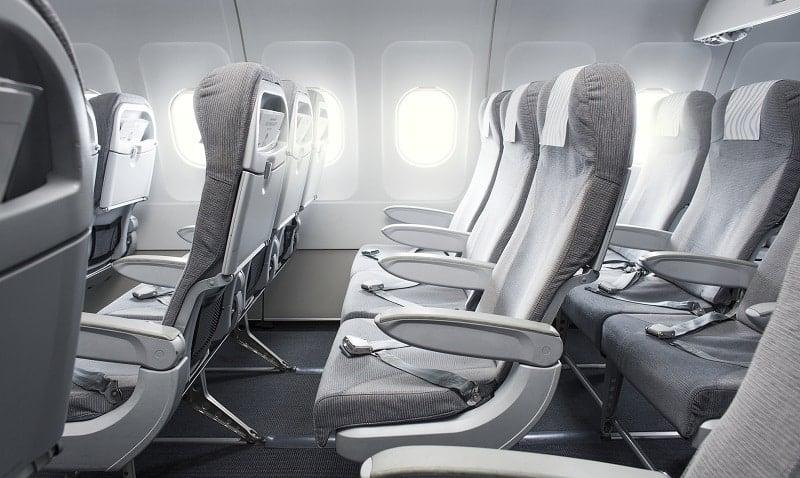 Finnair lento istuimet lentokone