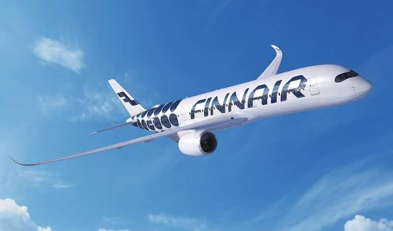 Finnair lentoyhtiö lennot talous