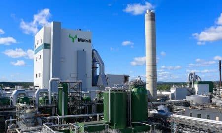 Metsä Group biotuotetehdas talous tehdas