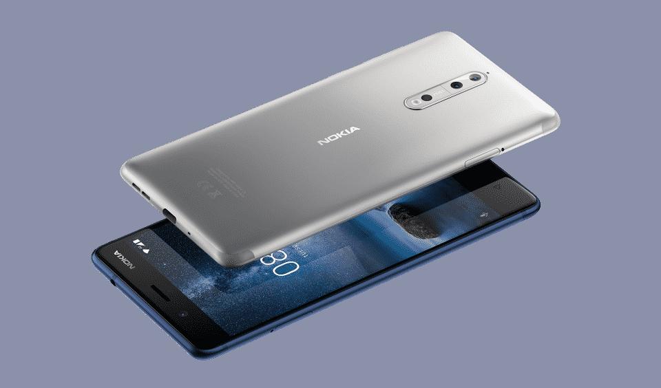 Nokia 8 älypuhelin kännykkä