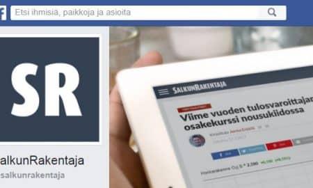 SalkunRakentaja Facebook sijoittaminen talous