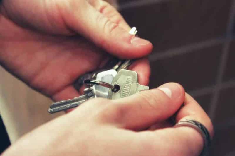 vuokra vuokralainen avaimet asunto