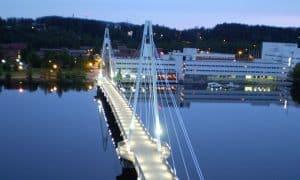 Jyväskylä silta kaupunki järvi talous