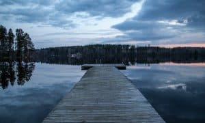 Suomi ranta järvi laituri maisema matkailu talous