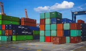 vienti tuonti ulkomaankauppa talous satama kontit