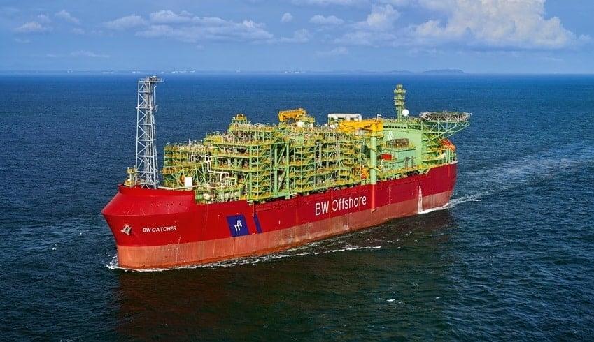 BW Offshore laiva öljyala talous