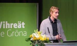 Antero Vartia kansanedustaja Vihreät
