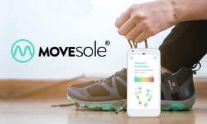 Movesole älypohjallinen, joka mittaa potilaan kävelyä