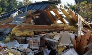 romahdus katastrofi tappio pettymys tulospettymys menetys