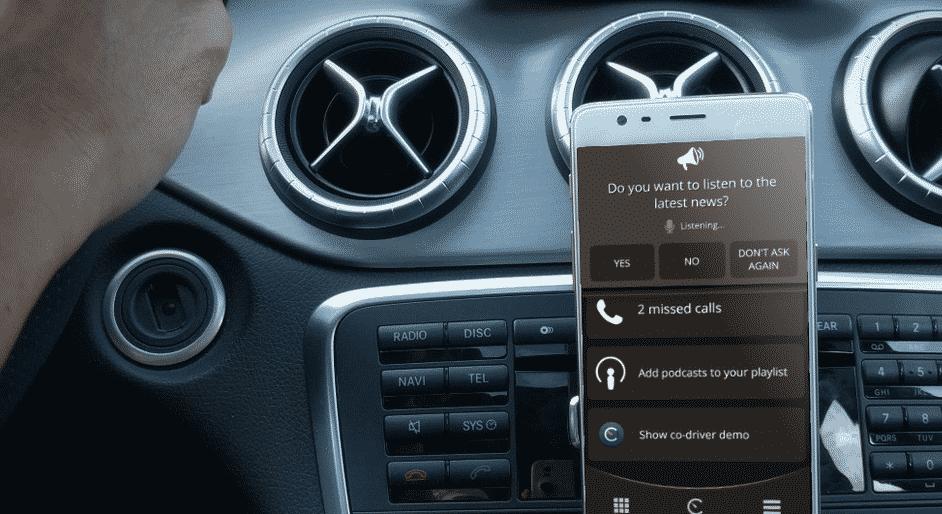 Carrio mobiilisovellus autoilu