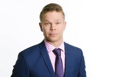 Henri Huovinen analyytikko Osakesäästäjien keskusliitto