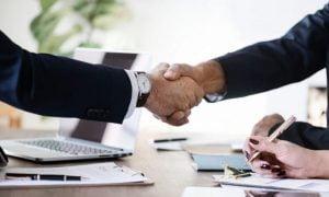 liike-elämä sopimus kättely kokous talous