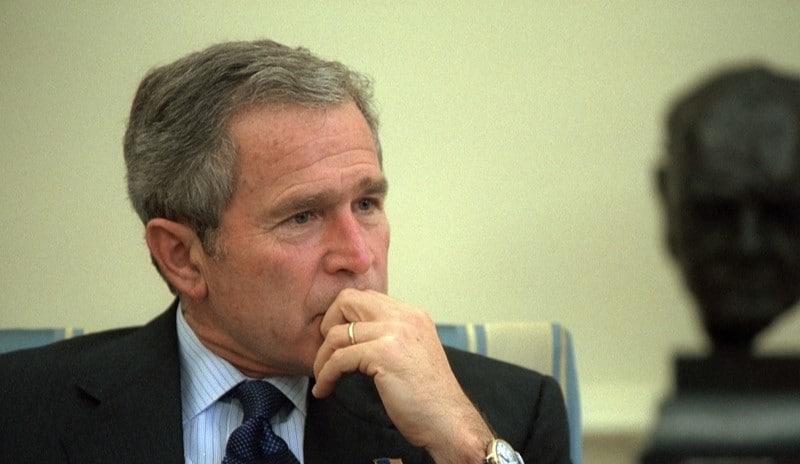 George W. Bush presidentti Yhdysvallat talous