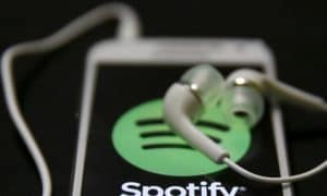 Spotify musiikki suoratoistopalvelu talous