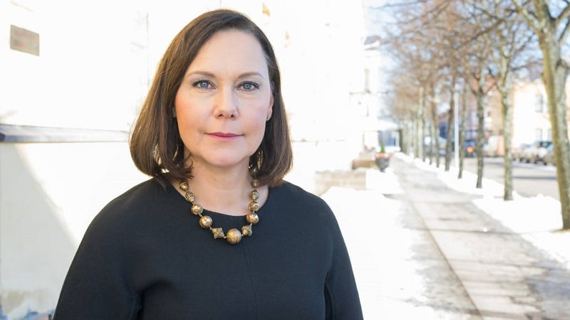 Ulkomaankauppaministeri Anne-Mari Virolainen