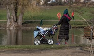 lapsi äiti yksinhuoltaja kotitalous talous