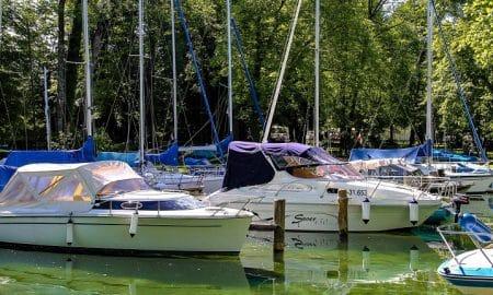 veneet satama purjevene talous