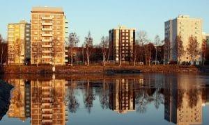 Kerrostalot Oulu Tuira asunnot asuminen asuinalue