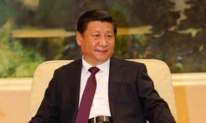 Kiinan presidentti Xi Jinping. Kiina ei taivu.