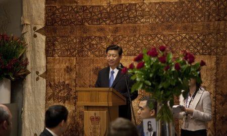 Kiinan presidentti Xi Jinping puhuu liennytyksen puolesta kauppasota-asiassa.