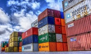 kontit satama ulkomaankauppa kauppa vienti tuonti talous