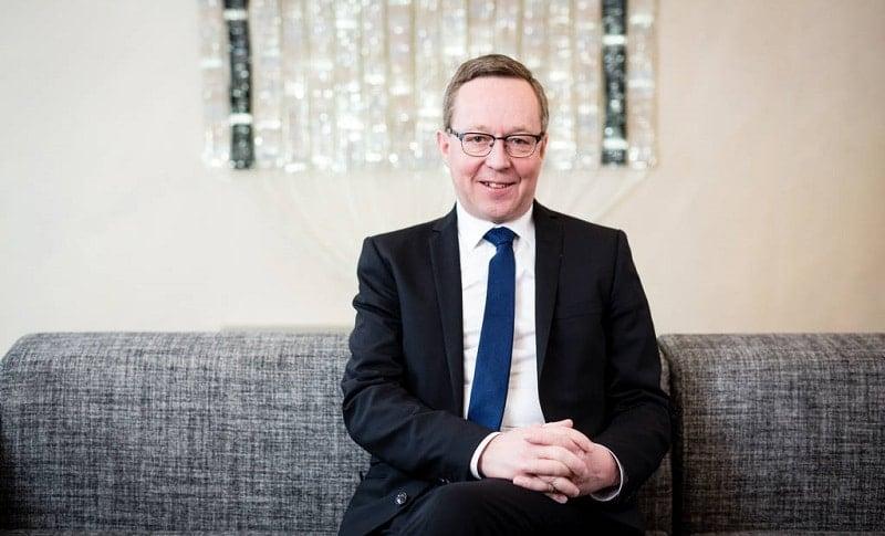 Elinkeinoministeri Mika Lintilä ministeri