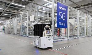 Nokia 5G teknologiayhtiö osakkeet