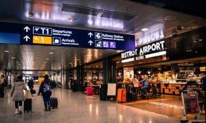 Helsinki lentokenttä terminaali Suomi talous
