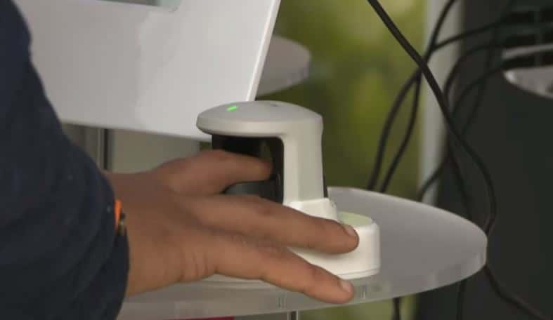 biometrinen tunnistus sormenjälkitunniste maksaminen verisuoni