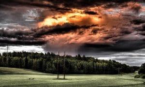 kauppasota pilvet myrsky talous