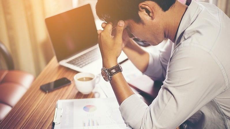 paskaduuni paskatyö konttorityö stressi paineet talous