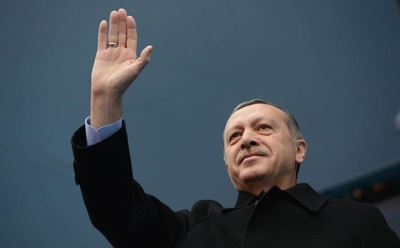 Recep Tayyip Erdoğan presidentti Turkki