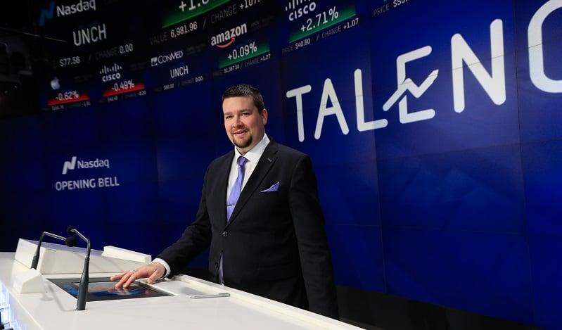 Talenom Jussi Paaso toimitusjohtaja