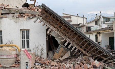 maanjäristys romahdus tappio menetys talous
