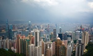 Hong Kong superrikkaat kasvukeskus kaupunki Aasia Kiina talous