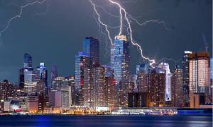 New York salama salamointi USA Yhdysvallat talous